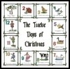 12 Days of Christmas Sampler - Cross Stitch Chart