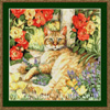 9003 Miss Tabby - Cross Stitch Chart