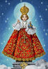 Sto Nino in Red - Cross Stitch Chart