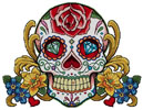 Sugar Skull (Face of Summer) - Cross Stitch Chart