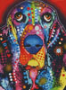Abstract Basset - Cross Stitch Chart