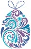 Abstract Easter Egg 1 - Cross Stitch Chart