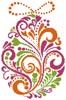 Abstract Easter Egg 4 - Cross Stitch Chart