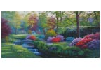 Beside the Brook (Large) - Cross Stitch Chart