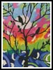 Birds in Tree - Cross Stitch Chart