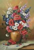 Bouquet of Field Flowers - Cross Stitch Chart
