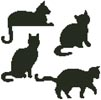 Cat Silhouettes - Cross Stitch Chart