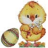 Chick and Egg - Cross Stitch Chart
