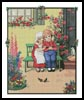 Children on a Bench - Cross Stitch Chart