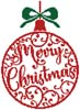 Christmas Bauble 1 - Cross Stitch Chart