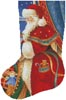 Christmas Delivery Stocking (Left) - Cross Stitch Chart