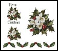 Christmas Tablecloth and Napkins 2 - Cross Stitch Chart