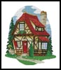 Cottage 1 - Cross Stitch Chart
