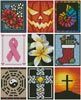Cross Stitch Card Collection 2 - Cross Stitch Chart