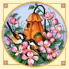 Birdhouse 2 (Brown Chickadees) - Cross Stitch Chart