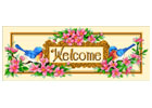 Birds and Flowers (Welcome Sampler) - Cross Stitch Chart