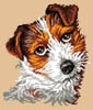 Scotty (Dog Portrait) - Cross Stitch Chart