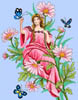 Flower Lady Fairy 1 - Cross Stitch Chart