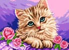 Persian Cat Beauty - Cross Stitch Chart