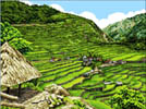 Banaue Rice Terraces - Cross Stitch Chart