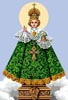 Sto Nino (Green) - Cross Stitch Chart