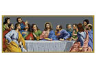 The Last Supper - Cross Stitch Chart