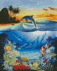 Dolphin Lagoon - Cross Stitch Chart
