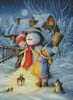 Dressing the Snowman - Cross Stitch Chart