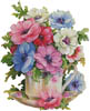Anemone Teacup - Cross Stitch Chart