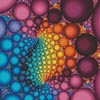 Fractal Bubbles - Cross Stitch Chart