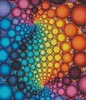 Fractal Bubbles (Crop) - Cross Stitch Chart