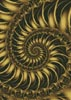 Fractal Spiral 2 - Cross Stitch Chart