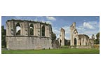 Glastonbury Abbey - Cross Stitch Chart