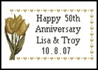 Golden Anniversary Sampler - Cross Stitch Chart