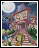 Halloween House - Cross Stitch Chart