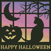 Halloween Square 1 - Cross Stitch Chart