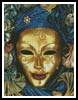 Harlequin Mask - Cross Stitch Chart