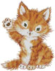 Hello Kitten - Cross Stitch Chart