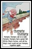 Humpty Dumpty Verse - Cross Stitch Chart