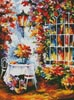 In the Garden Painting - Cross Stitch Chart