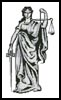 Lady Justice - Cross Stitch Chart