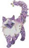 Lilac Cat - Cross Stitch Chart