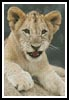 Lion Cub 3 - Cross Stitch Chart