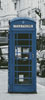 London Phone Booth Blue (Crop) - Cross Stitch Chart