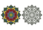Mandala Design 1 - Cross Stitch Chart