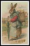 Antique Easter Bunny - Cross Stitch Chart