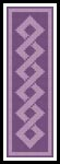 Celtic Bookmark 6 - Cross Stitch Chart