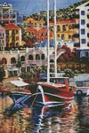 Coastal Waters - Cross Stitch Chart