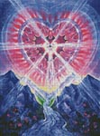 Cosmic Heart - Cross Stitch Chart