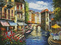 Italian Love Song - Cross Stitch Chart
